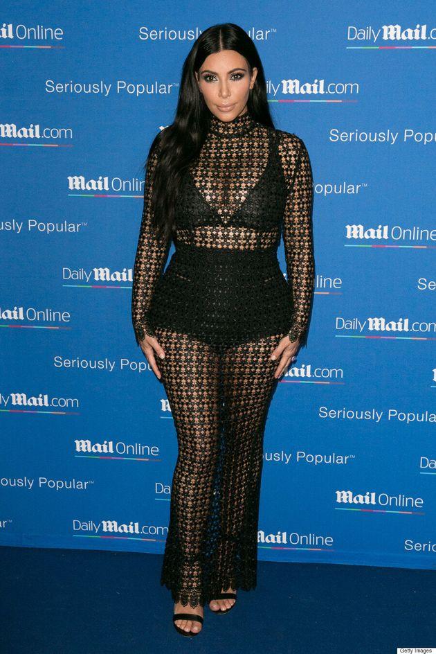 Kim Kardashian Attends Yacht Party In Naked