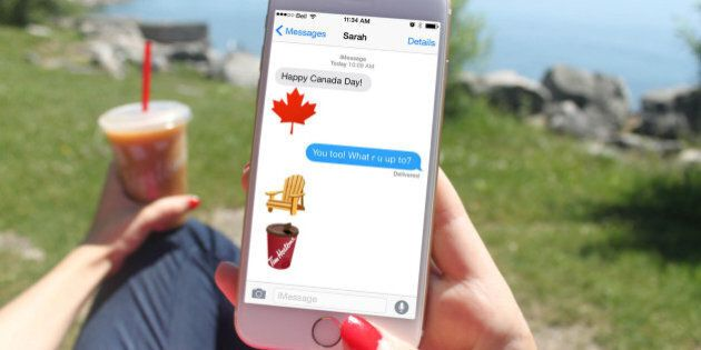 Tim Hortons' 'EHmoji' Keyboard Includes A Tuque, Also A