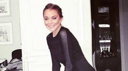 Did Lindsay Lohan Photoshop This