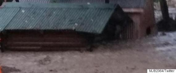 Cache Creek Flood Forces Dozens To Abandon Their