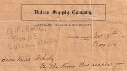 LOOK: 1919 Letter Describes Hardships, Joys On Canadian