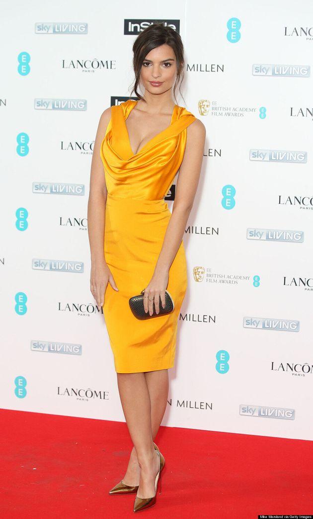 Emily Ratajkowski's Little Yellow Dress Is A Sight To