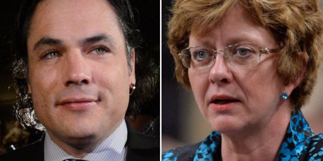 Patrick Brazeau Suggests Diane Finley Pulled Quebec Funds When NDP Won