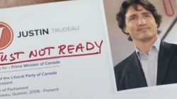 Trudeau's Not Ready.. Now, Tory Ad