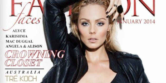Laura Vandervoort Ready To Be 'Bitten' On Fashion Faces Cover