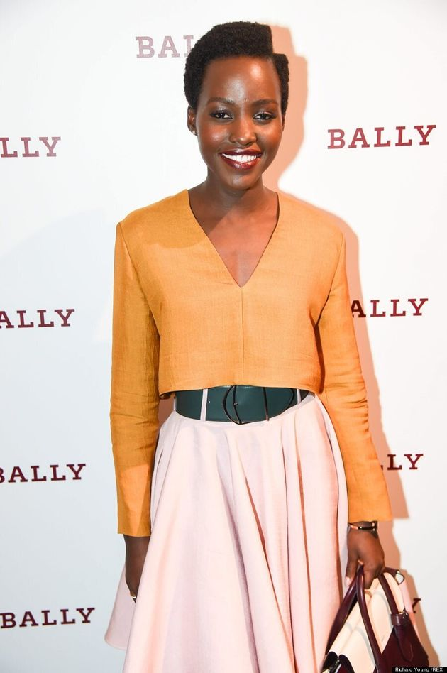 Lupita Nyong'o Is Missing A Chunk Of Her Hair, Looks