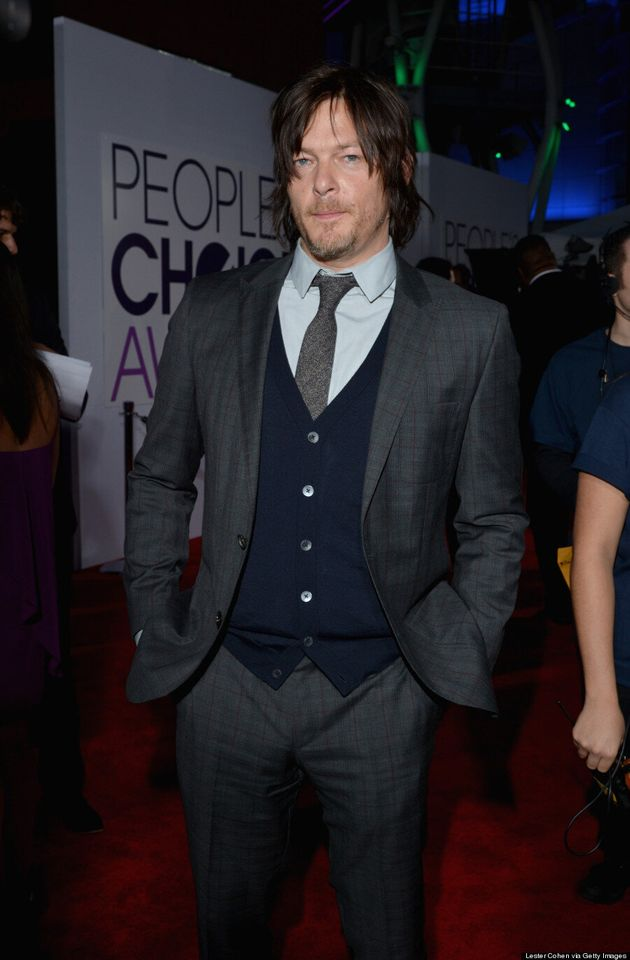 Norman Reedus People's Choice Awards 2014: 'Walking Dead' Star Cleans Up Well