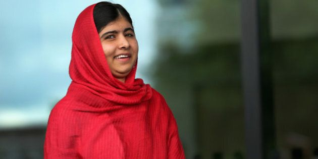 BIRMINGHAM, ENGLAND - SEPTEMBER 03: Malala Yousafzai opens the new Library of Birmingham at Centenary...