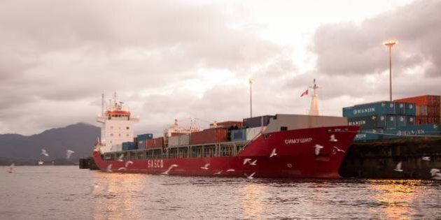 B.C. Ship Drama Adds To Storm Of Oil Tanker