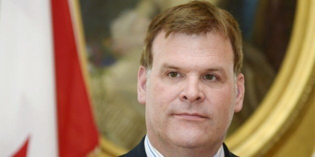 Canada's Foreign Minister John Baird is pictured during a joint press conference with his Finnish counterpart...