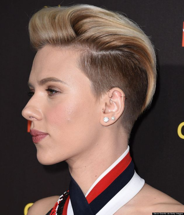 Scarlett Johansson's Razed Undercut Is