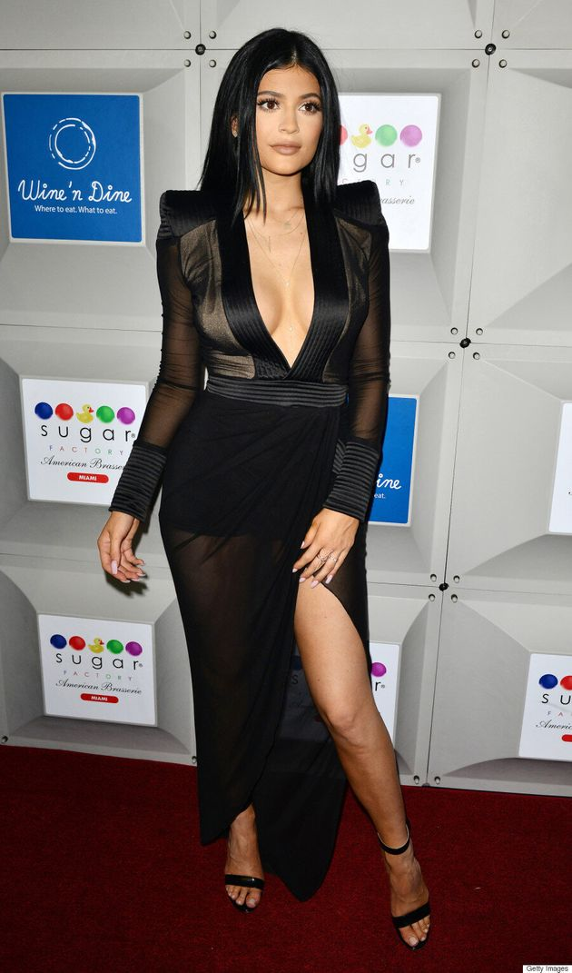 Kylie Jenner Uses Duct Tape To 'Hold Up' Her