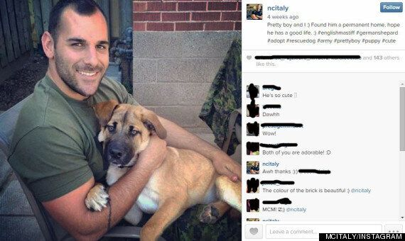 Heartbreaking Photo Shows Nathan Cirillo Moments Before