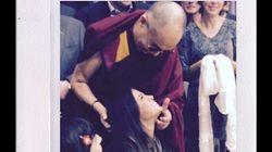 Dalai Lama Meets Students, Celebs During Vancouver