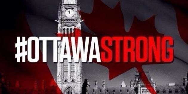 #OttawaStrong: Canada Shows Its Support For Our Nation's