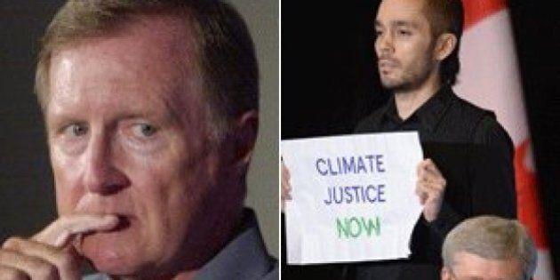 Tory Senator Bob Runciman Wants Harper Protesters