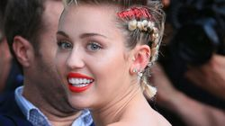 Miley Cyrus Shows Off Hairy Pits For Terry