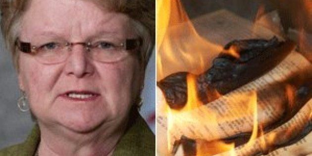 Gail Shea Denies Books Burned As Fisheries Libraries