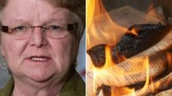 Tory Minister Denies Books Burned In Name Of