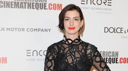 Anne Hathaway Gets 'Tangled' In Rope