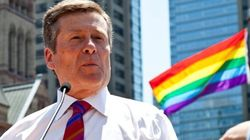 Toronto's Mayor To Participate In Pride Parade, And Says That's Not