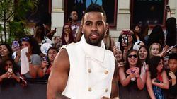 Jason Derulo Adds A Golden Touch To MMVA Red