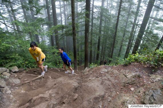Grouse Grind Is 'Walk In The Park' For 73-Year-Old