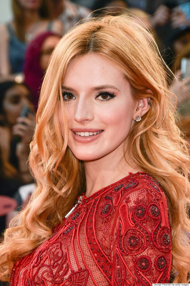 Bella Thorne's MMVA 2015 Dress Is Sheer, Sexy And