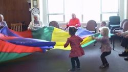 When A Preschool Is Located In A Nursing Home, Magic
