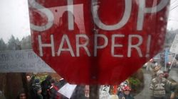 Harper Greeted With More Protests On B.C.