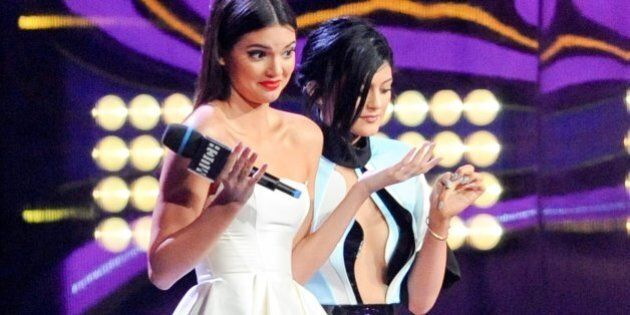 TORONTO, ON - JUNE 15: Kendall Jenner and Kylie Jenner host the 2014 Much Music Video Awards at MuchMusic...