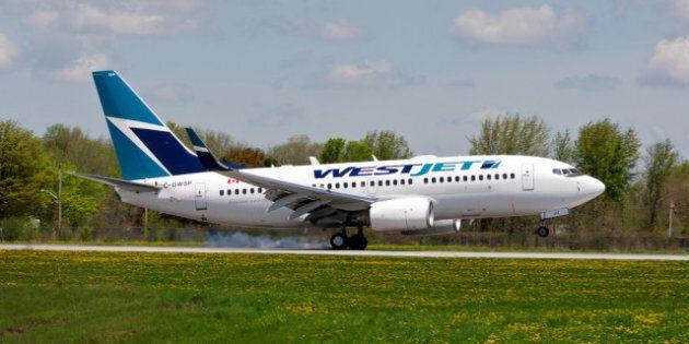 WestJet Flight Makes Emergency Landing After Report Of Possible