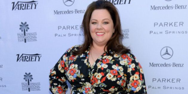 PALM SPRINGS, CA - JANUARY 05: Actress Melissa McCarthy attends Variety's Creative Impact Awards and 10 Directors to Watch brunch presented by Mercedes-Benz at The 25th Annual Palm Springs International Film Festival at Parker Palm Springs on January 5, 2014 in Palm Springs, California. (Photo by Jason Kempin/Getty Images for Variety)