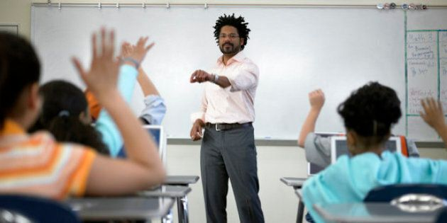 This Is What It's Like to Be a Black Teacher in
