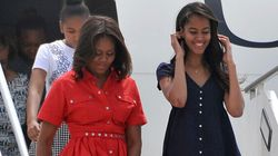 Michelle Obama Almost Has A 'Marilyn Monroe Moment' In