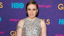 Lena Dunham's Dress Hurts Our Eyes, In A Good