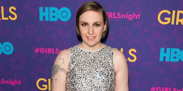 NEW YORK, NY - JANUARY 06: Writer/Actress Lena Dunham attends the 'Girls' season three premiere at Jazz...