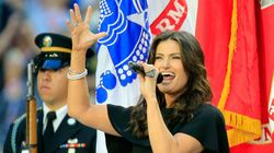 Idina Menzel's Super Bowl National Anthem Rocks, And Her Style Does