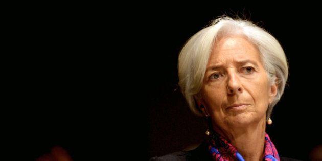 MILAN, ITALY - DECEMBER 09: Christine Lagarde, managing director of International Monetary Fund (IMF)...
