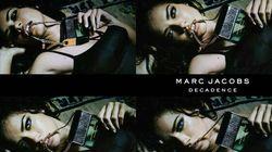 Adriana Lima Gets Seductive For Marc Jacobs 'Decadence'