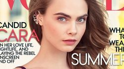 Cara Delevingne Covers Vogue, Opens Up About Childhood And