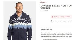 Nordstrom Impresses With Response To Fake 'Cowichan'