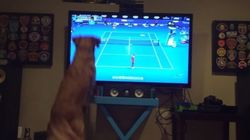 This Dog Either Loves Tennis Or Is Really