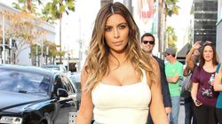 Kim Kardashian Busts Out Of