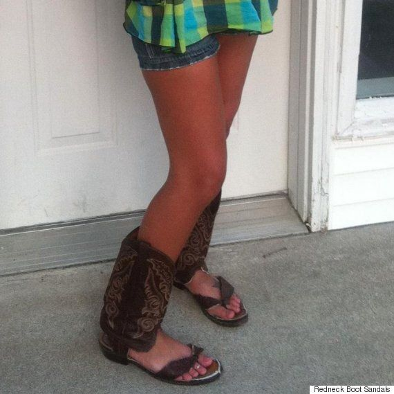 Redneck Boot Sandals Are The Worst Thing You Could Wear To The Calgary