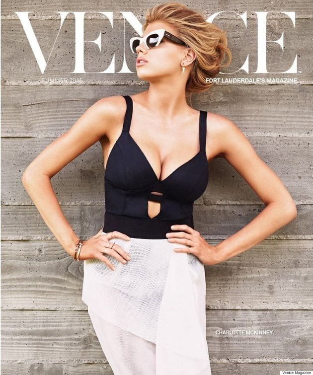 Charlotte McKinney Stuns On The Cover Of Venice Magazine, Opens Up About Childhood