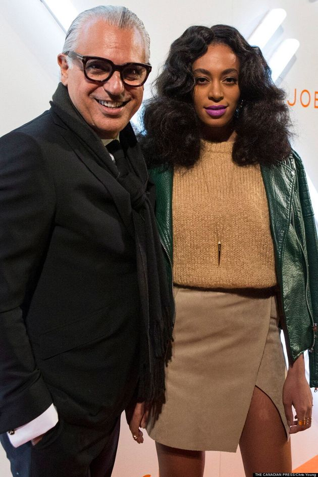 Solange Makes Surprise Toronto Fashion Week Appearance At Joe Fresh