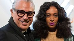 Solange Makes Surprise Appearance At Toronto Fashion