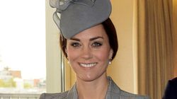 Kate Middleton's First Public Appearance Since Baby
