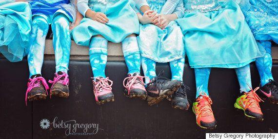 Girls' Softball Team Dressed Like Elsa Loses Tournament Wins Our